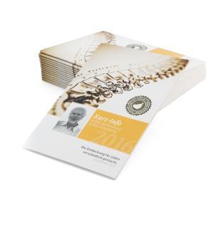 Broschüre: Kurz-Info - DORNmethode / 25 Stück