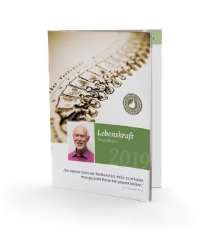 Broschüre: Lebenskraft Grundkurs von Helmuth Koch