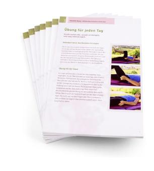 Selbsthilfe-Übung / Einzelblatt-Block