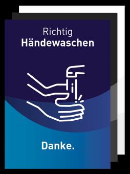 Plakat - Motiv 02 - Richtig Händewaschen