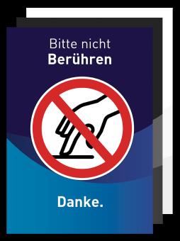 Plakat - Motiv 06 - Bitte nicht Berühren