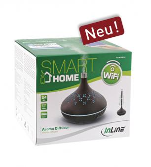 InLine® SmartHome Ultraschall Aroma Diffuser